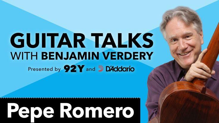 Pepe Romero: Guitar Talks with Benjamin Verdery