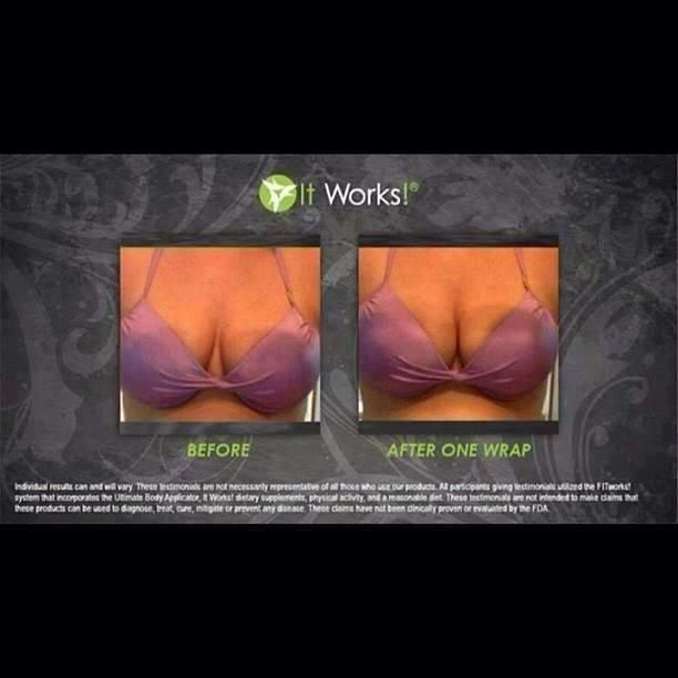 Yes that's right ladies! You can even WRAP your ta-tas!! Tone, Tighten & Lift the girls