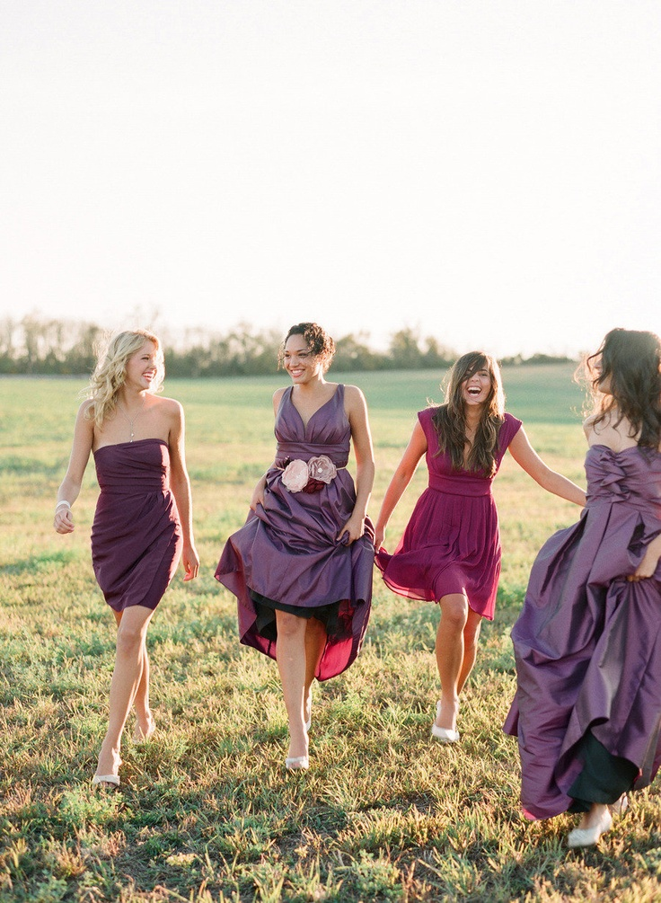 A gallery full of @Elizabeth Messina Photos ~ You will love them all!! http://StyleMePretty.com/gallery/picture/547468 Photography by elizabethmessina.com: Wedding Inspiration, Purple Bridesmaid Dresses, Shades Of Purple, Purple Bridesmaids, Color, Wedding Ideas, Bridesmaids Dresses, Purple Wedding, Mismatched Bridesmaid