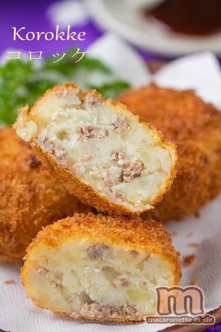 Korokke (コロッケ) - croquette de pomme de terre japonaise - Macaronette et cie