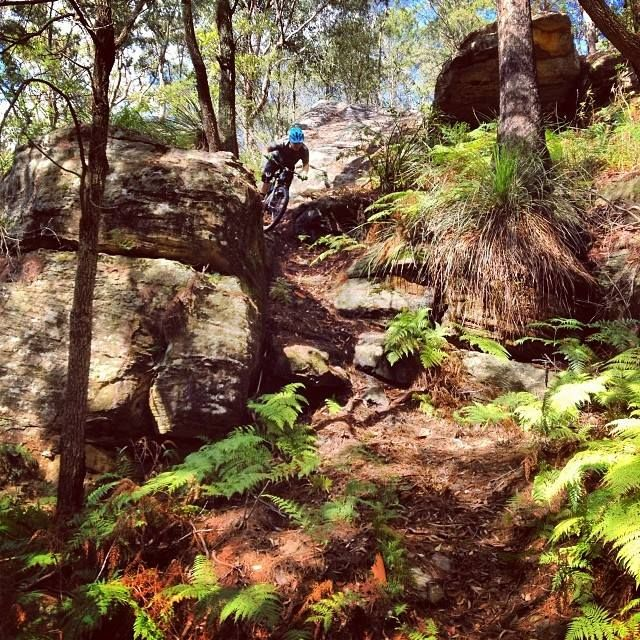 Steep and loose #mtb shredding. Where are you riding this weekend? — with James Hall.
