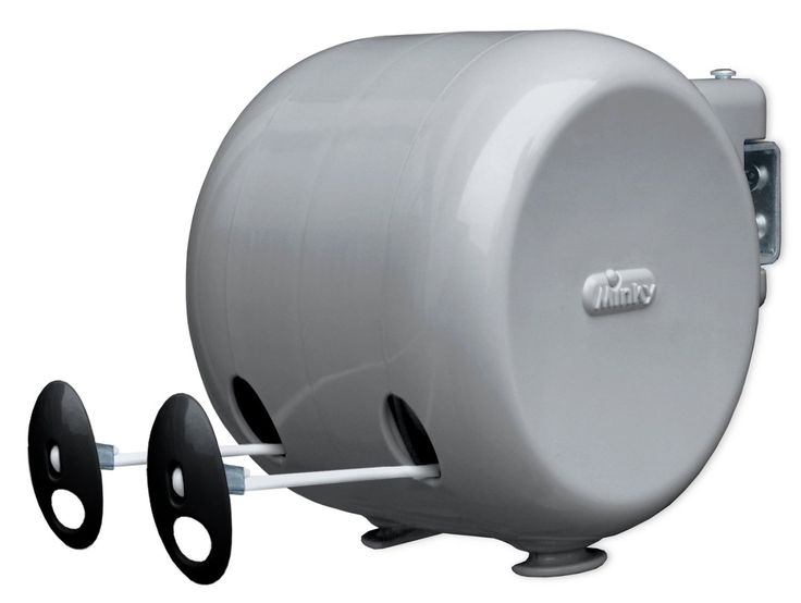 Minky Retractable Reel Outdoor Dryer, 98-Feet Line Drying Space: Clothes Drying Racks: Amazon.com
