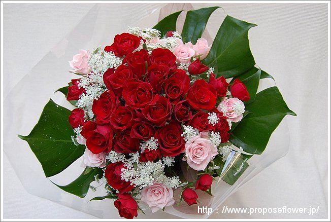 ROSE bouquet  赤い薔薇の花束