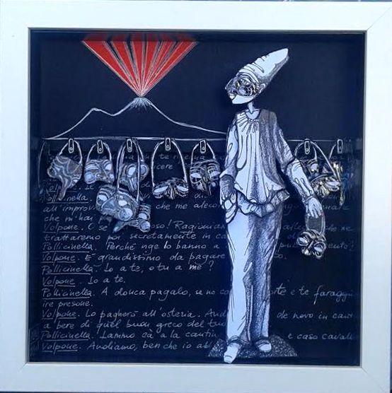 """LE STANZE DI MOMA: """"LA SCELTA DI PULCINELLA"""", con testo tratto da """"La..."""