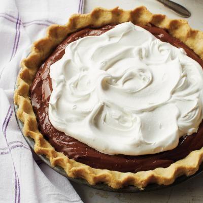 Chocolate Cream Pie Recipe | CookingLight.com