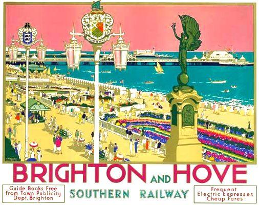 SR Brighton and Hove Poster