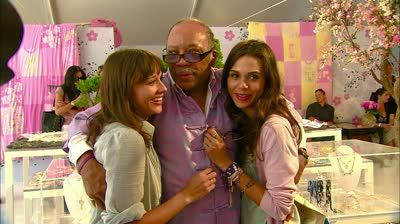 Quincy Jones and his daughters. QuotesGram by @quotesgram