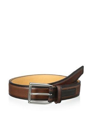 53% OFF Trafalgar Men's Two-Tone Belt (Tan)