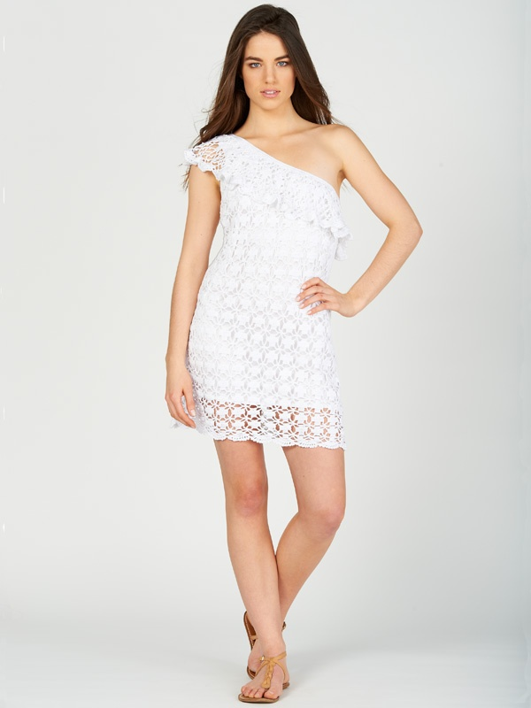 Crochet Jacqueline dress by Anna Kosturova