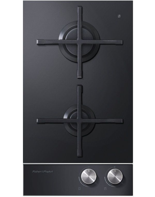 Fisher & Paykel CG302DNGGB1 2 Burner Gas Domino Hob