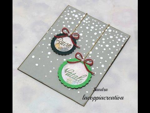 Vi aspetto anche qui: http://www.lartevistadame.it https://www.facebook.com/LArteVistaDaMe Ciao a tutti!Oggi realizziamo una Shaker Card natalizia. Se vi pia...