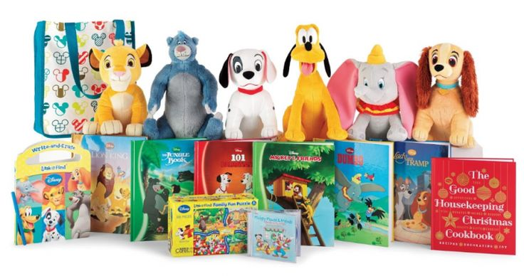 Buy Disney Products for $5 Each to Benefits Kohl's Cares: Choose from popular plush characters, story books, a cookbook, CD or puzzle - profits benefit kids  - Holiday Gift Guide Pick!