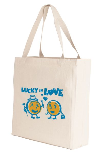 Lucky in Love Tote Bag – Lucky Penny Company