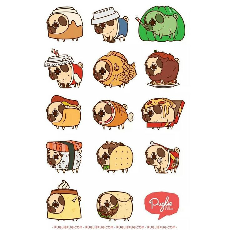 """""""Puglie whatchu doin in all dem foods!?"""" Series One ;P by pugliepug"""