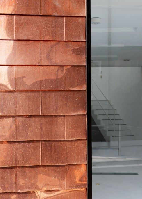 Copper Wall Cladding : Best materials images on pinterest arquitetura metal