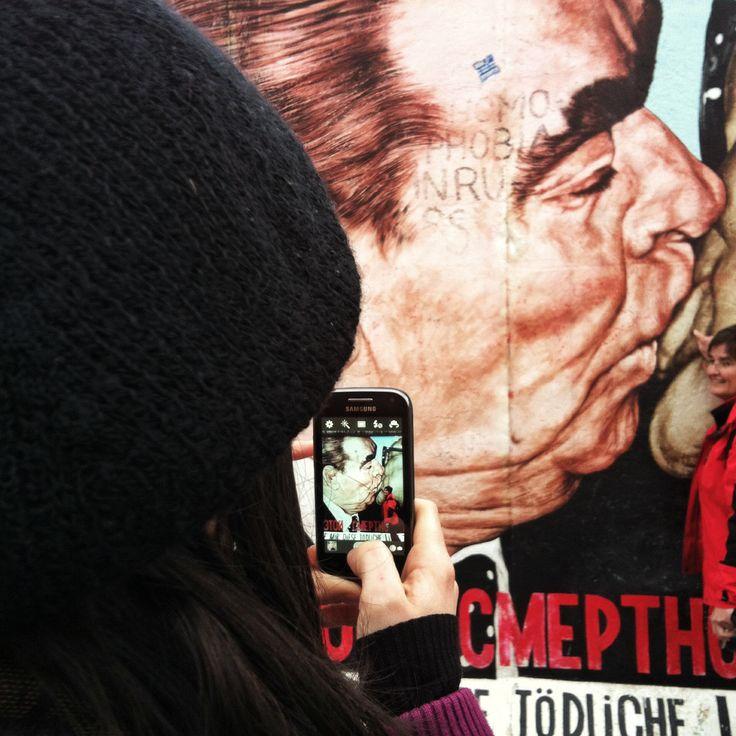 Berlin Wall the Fraternal Kiss
