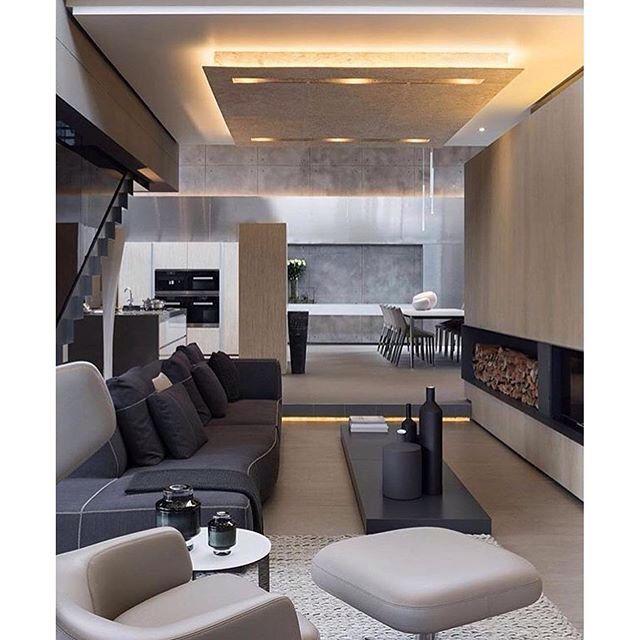 wir zeigen euch ein haus ganz besonderer ausmae das mit modernem design eleganten oberflchen und schnittigen konzepten berzeugt - Modernes Wohnzimmer Des Innenarchitekturlebensraums
