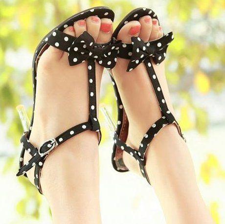 Cheap Envío Gratis nuevas mujeres de la moda plataforma sandalias de tacón de vestir zapatillas zapatos atractivos.