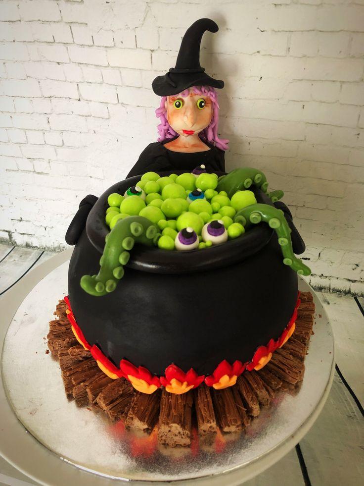 Gluten Free Halloween Cake- Sugar by Design
