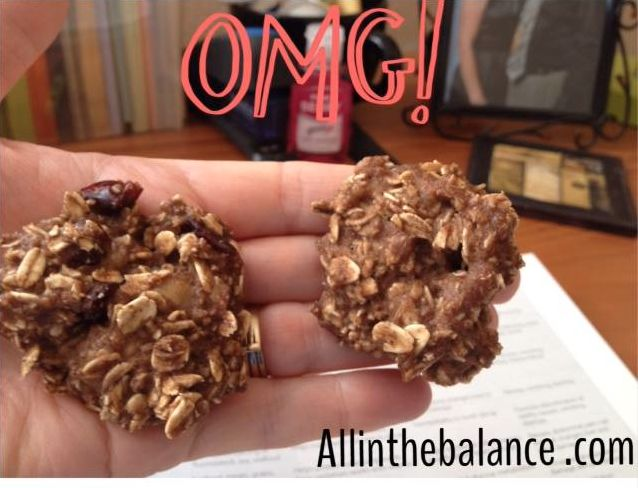 Banana Oatmeal Cookies ( Snack from the 21 Day Fix)