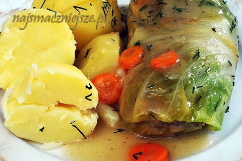 Gołąbki / stuffed cabbage