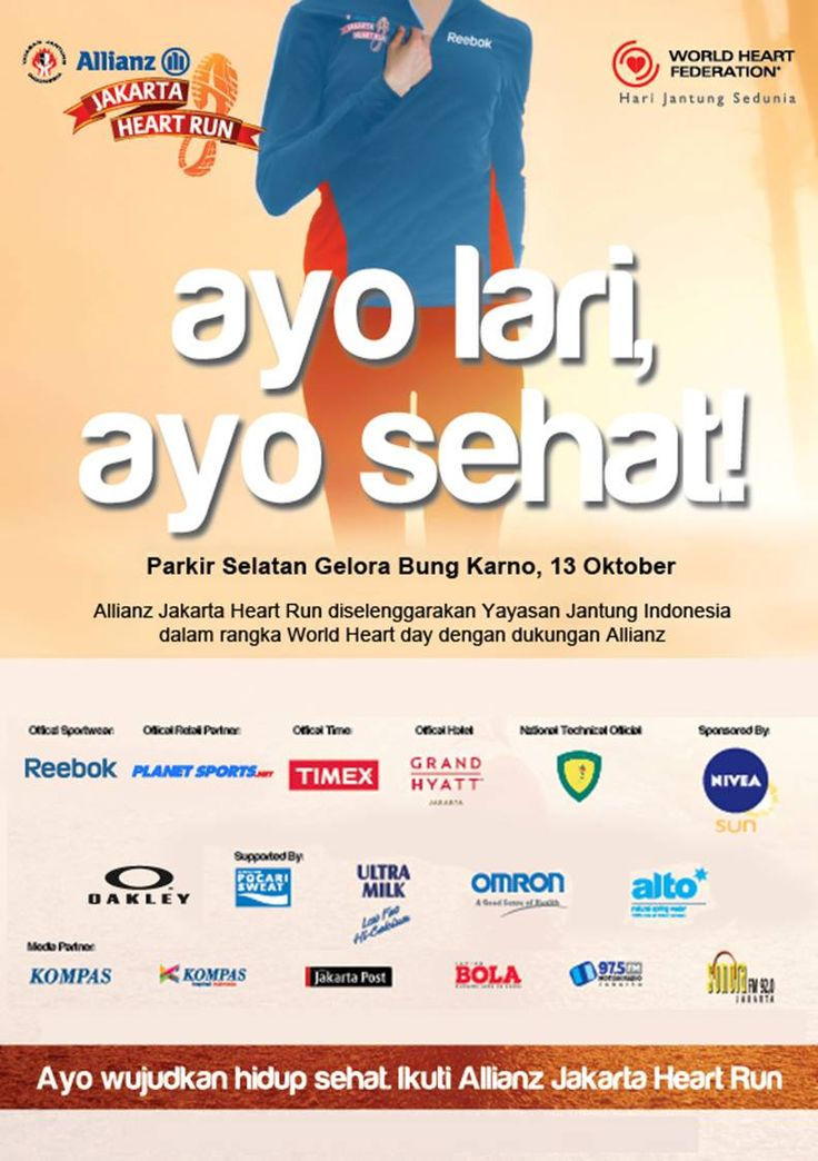 Are you joining the Allianz Heart Run this coming sunday?