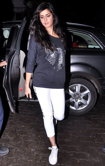 katrina in her casual style
