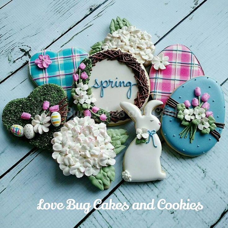 Spring Easter cookie
