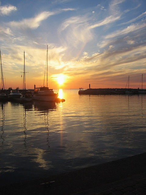Sunset in Port Elgin by Samantha Ramsay