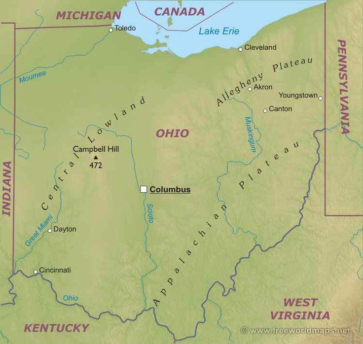 Огайо штат : Флаг штата Огайо Огайо (англ. Ohio) — штат на северо-востоке Среднего Запада США, первый штат, включённый в конфедерацию после принятия Ордонанса о Северо-Западе в 1787 г. Обозначение OH, официальное прозвище «Штат конского каштана».