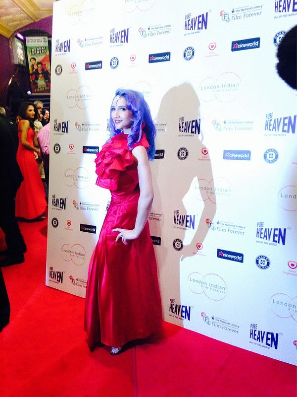 On the Red Carpet for the London Indian Film Festival