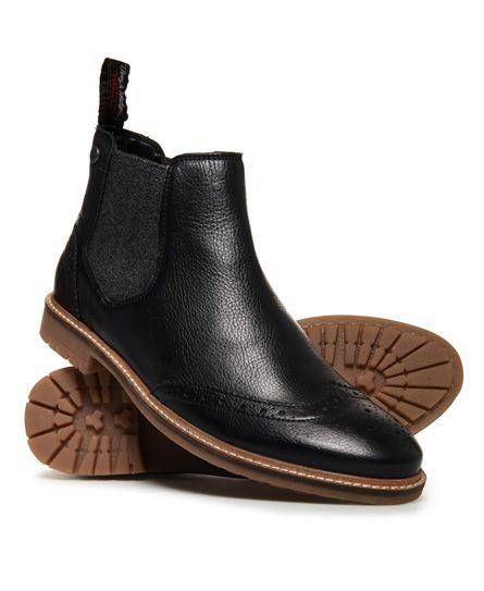 Superdry Brad Chelsea-Stiefel im Brogue-StilIhr Produkt-Anzeiger ... 3d87999e48