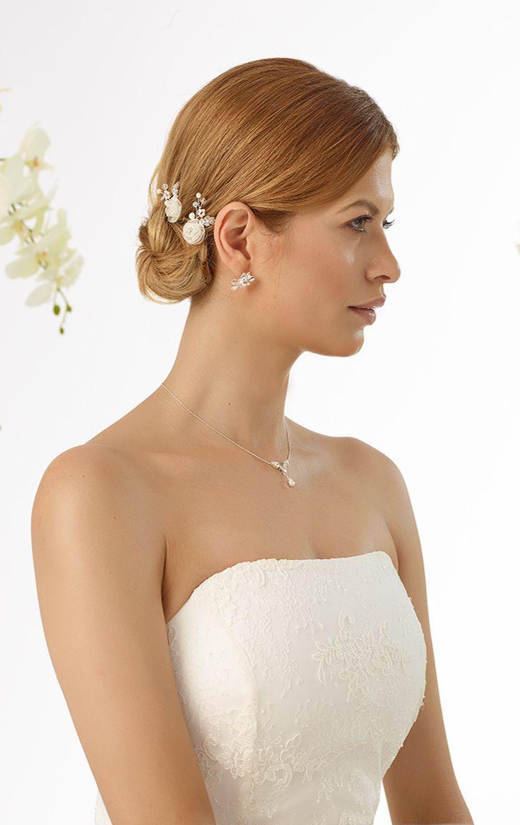 Beautiful curlies M10 from Bianco Evento #biancoevento #hairstyles #weddingaccessories #hairjewellery #weddingideas #bridetobe