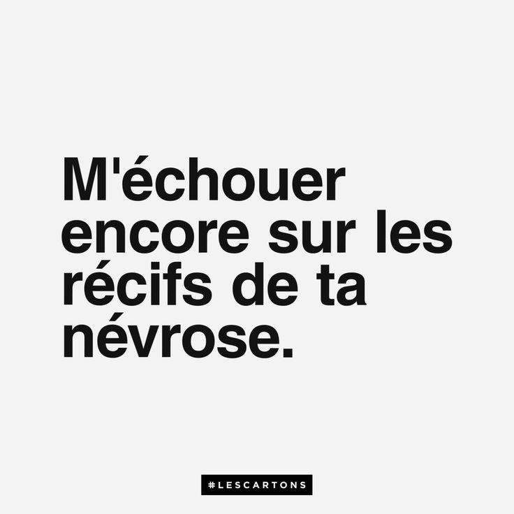 """#lescartons #citation #nevrose - LINE BOTWIN """"le poids des mots"""""""