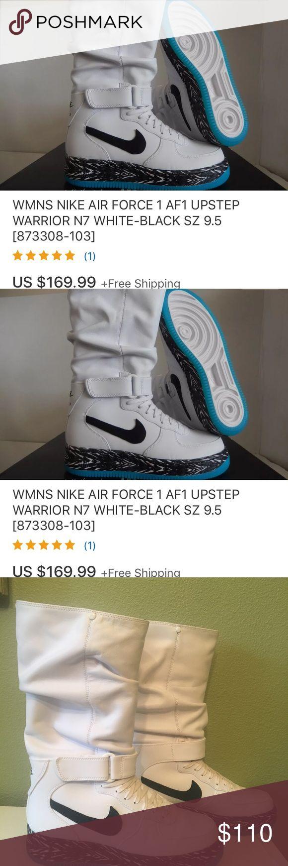 NIKE Woman's AIR FORCE 1 UPSTEP WARRIOR N7 size 10
