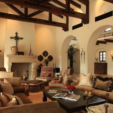 27 best images about spanish colonial on pinterest santa for Mexican inspired living room ideas