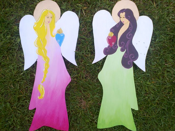 angels for my two children