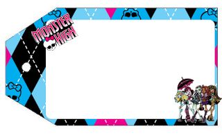 Monster High Party Kit To print Free