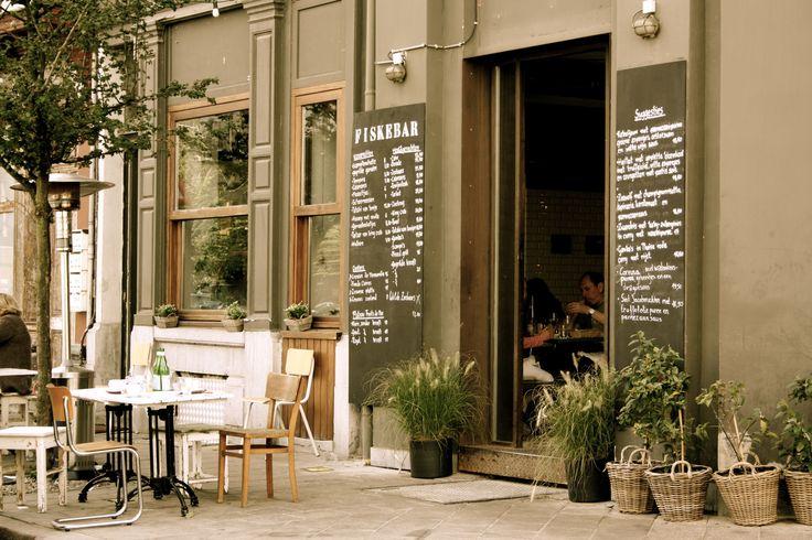Fiskebar, Antwerp, Belgium: great seafood restaurant!