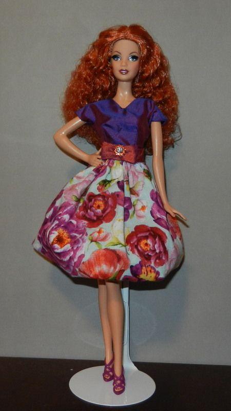city shine barbie in paintbox designs barbie ken. Black Bedroom Furniture Sets. Home Design Ideas