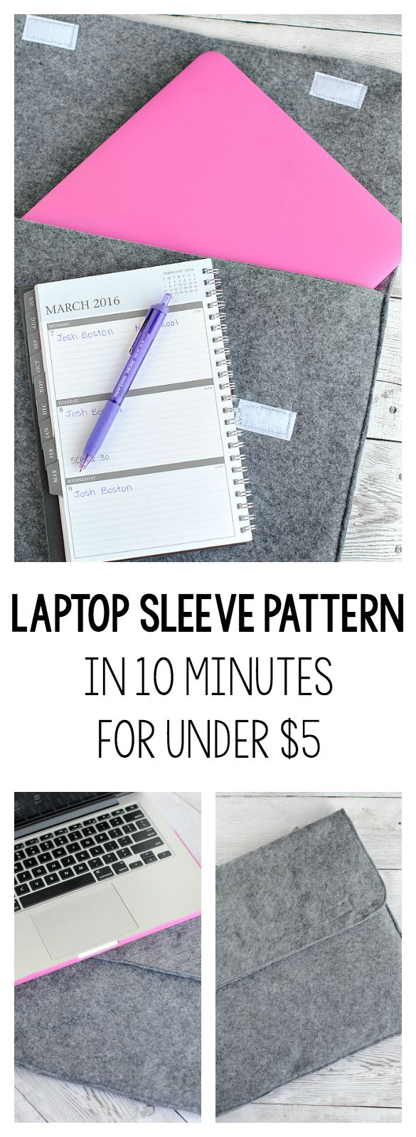 10 Minute Lap Top Sleeve Tutorial – Crazy Little Projects
