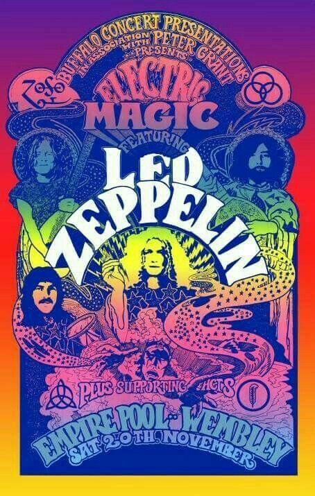 Led Zeppelin Wembley Stadium 11/20/71