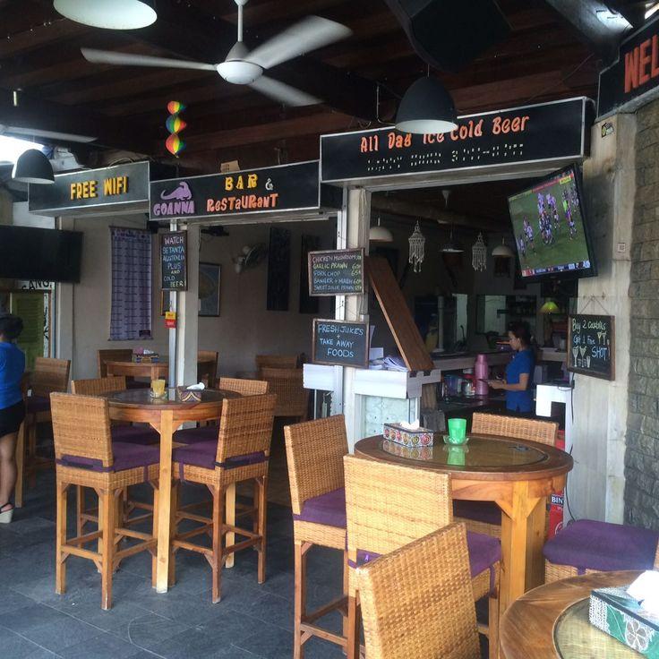 Bar: Goanna Bar & Restaurant Address: Jalan Danau Poso