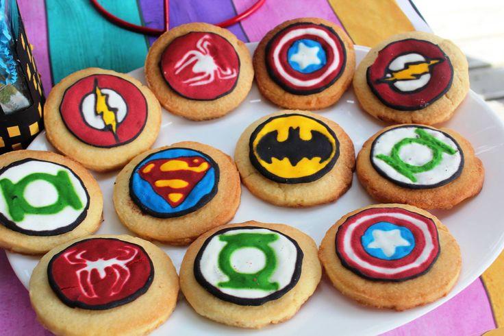 Superhero Cookies