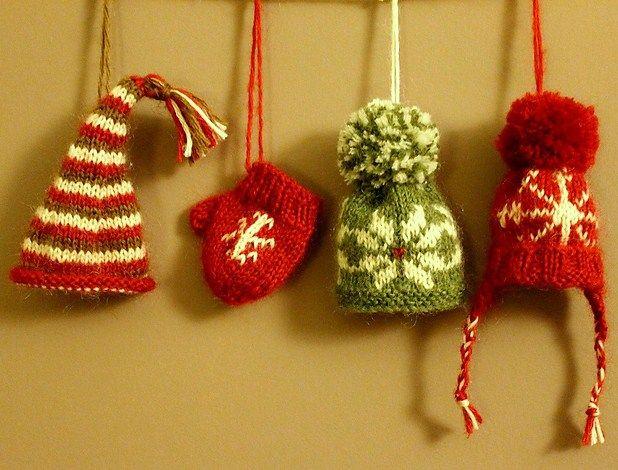Knit Christmas Tree Hat