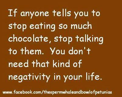 25+ best Chocolate humor ideas on Pinterest | Funny chocolate ...