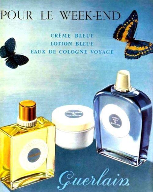 Guerlain advertisement 1958