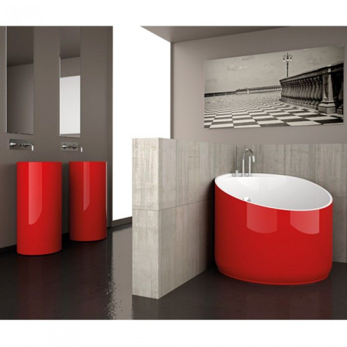 10 best contemporain baignoires images on pinterest soaking tubs bathroom and showers. Black Bedroom Furniture Sets. Home Design Ideas