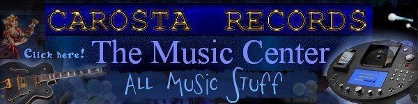 Karaoke Songs on CDs - carosta.com - Link to Music Homepage