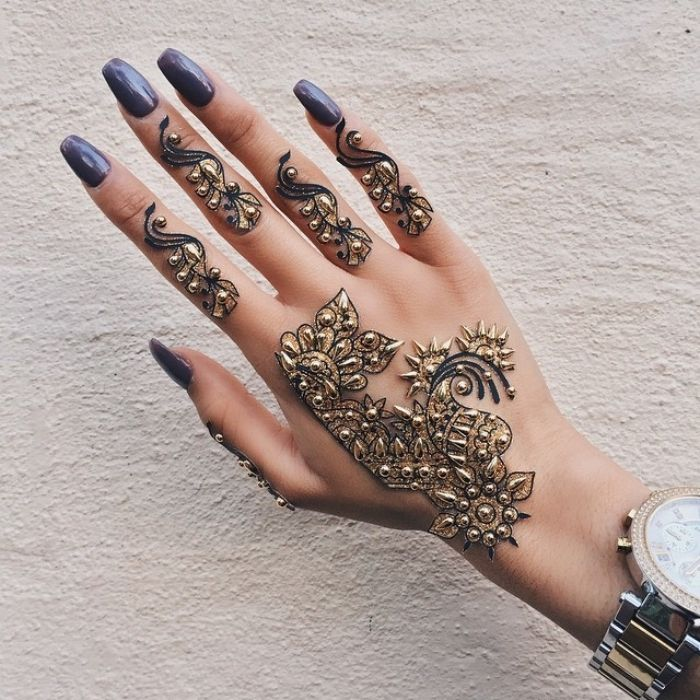 Les 2474 meilleures images du tableau tattoo sur pinterest - Dessin de henne pour les mains ...